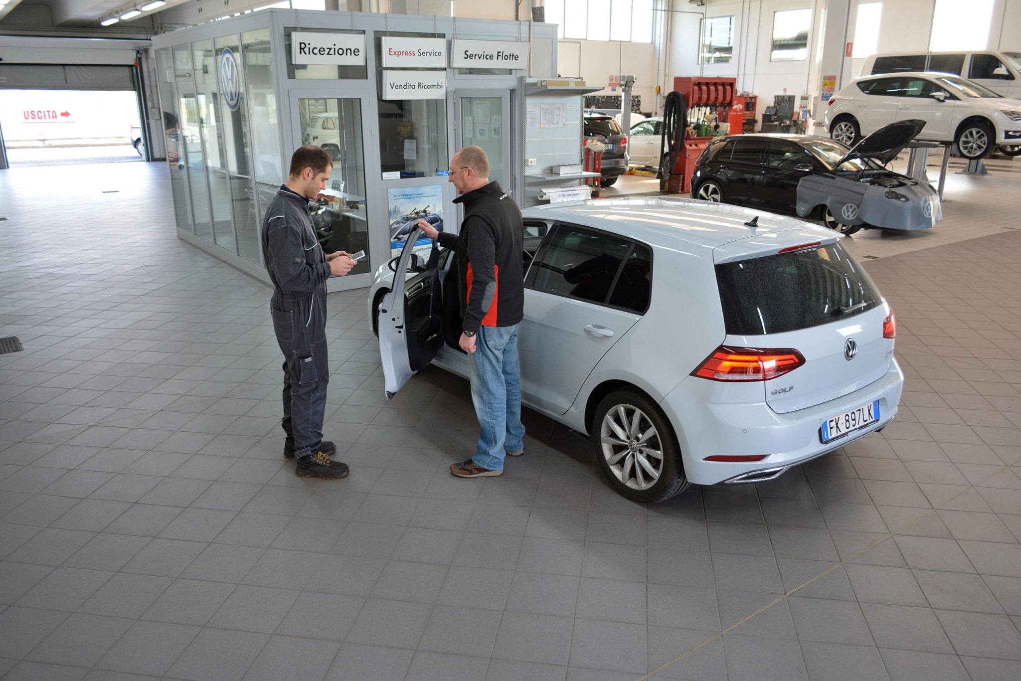Rossini Auto officina ed assistenza Volkswagen service