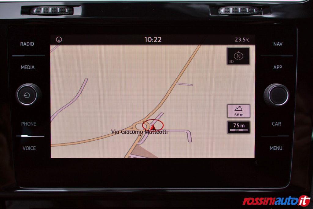 sistema di navigazione discover media volkswagen