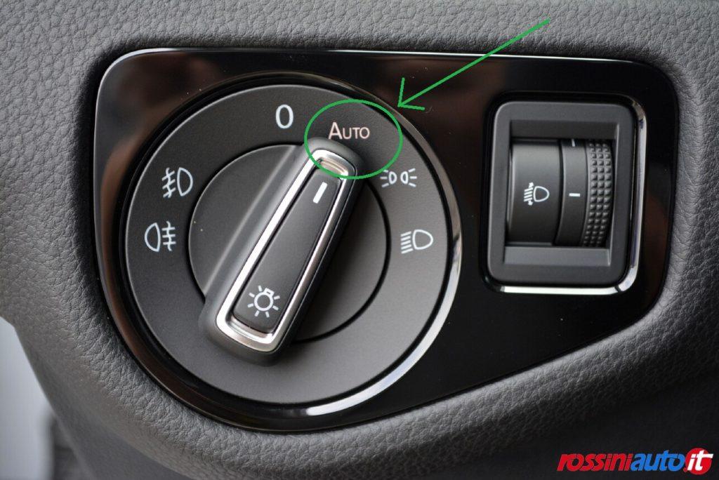 sensore luci volkswagen