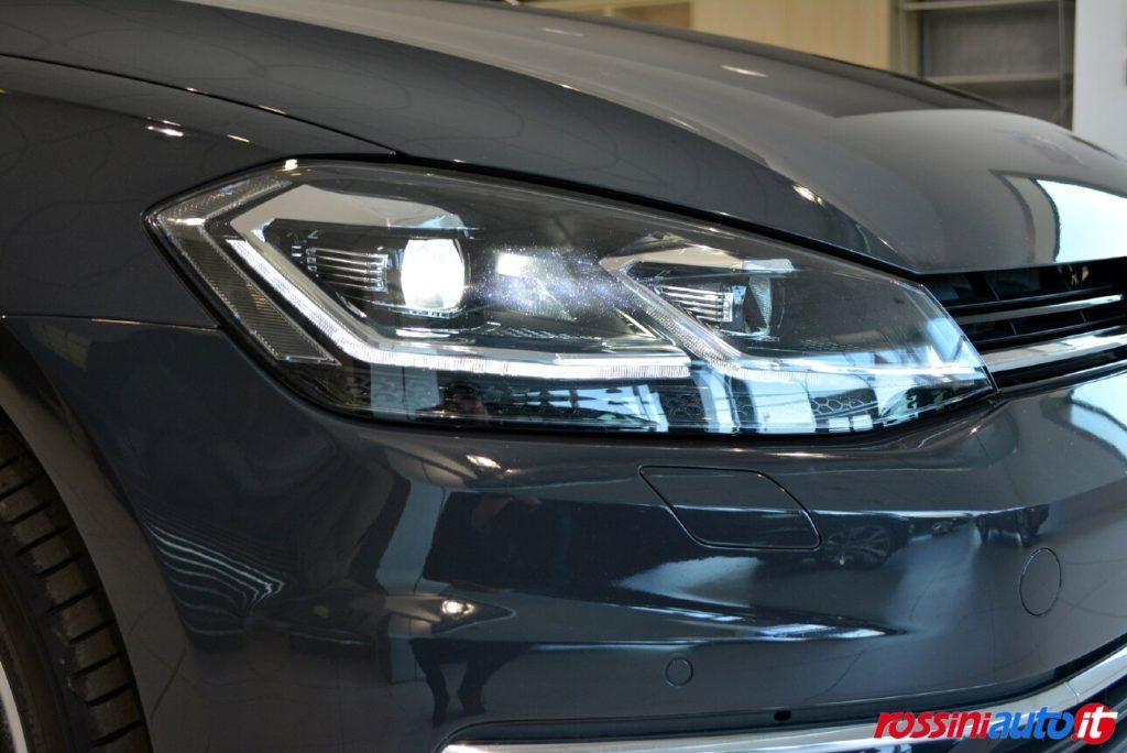Volkswagen Golf 7 Restyling Highline usata fari Full Led