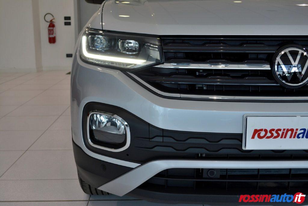 Volkswagen T-Cross Km 0 Advanced fari full led