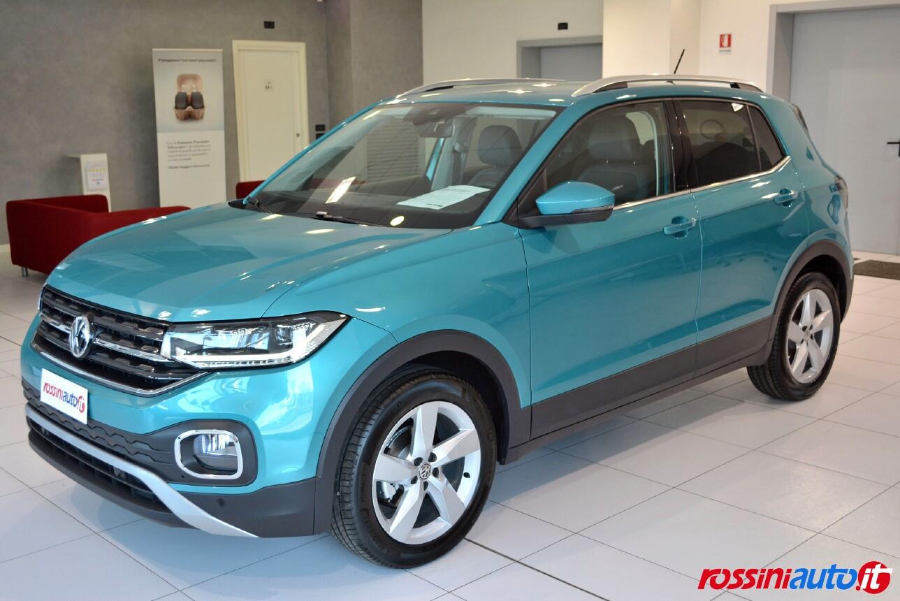 Volkswagen T-Cross colori carrozzeria