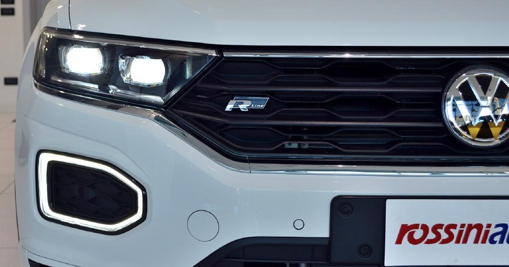 Volkswagen T Roc R Line pack e R line exterior pack