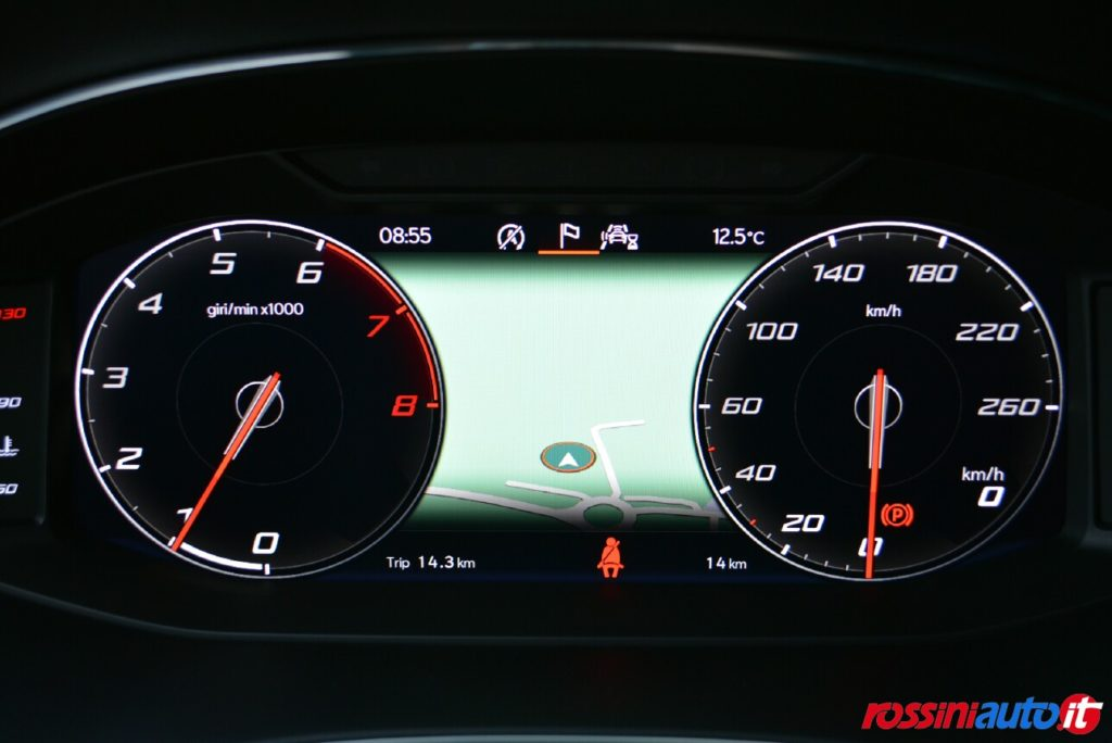 Seat Arona FR km 0 virtual cockpit