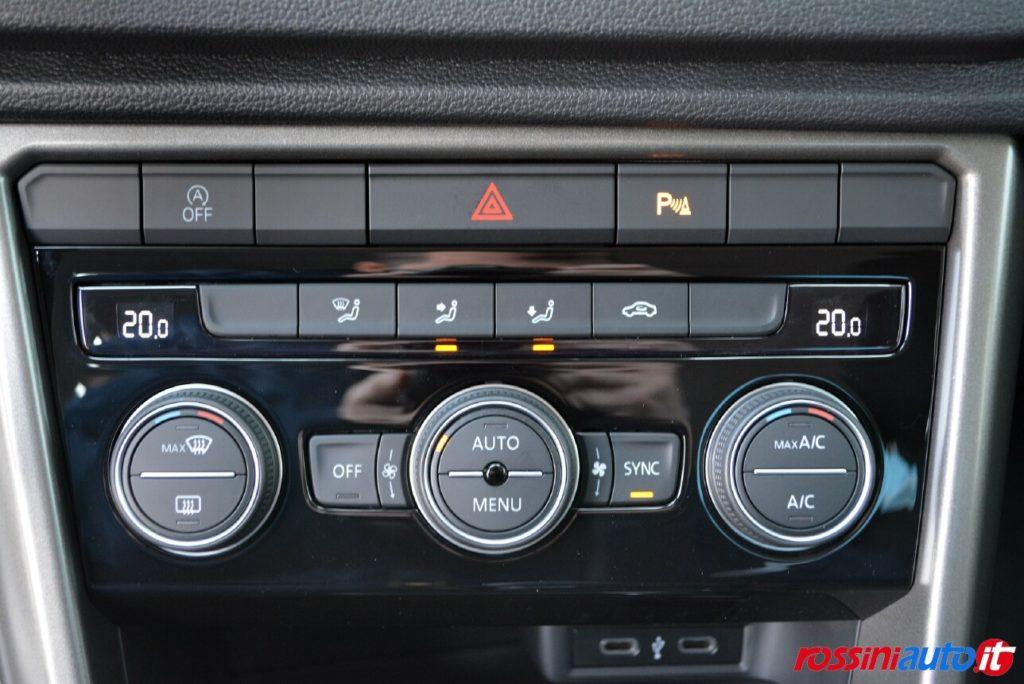climatizzatore automatico bizona Volkswagen T-Roc