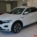 Volkswagen T-Roc R-Line Km 0 Executive 1.5 TSI benzina con cambio automatico DSG bianca